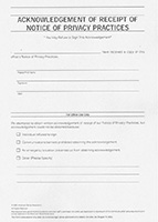 Privacy Policy Form